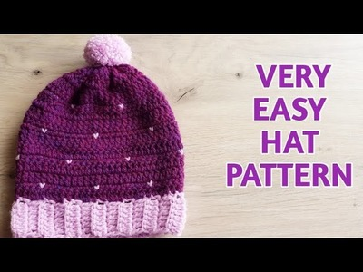 Very Easy Crochet Baby Hat. Crochet Baby Beanie Tutorial in Tamil.Crochet Adult Hat. Neidhal-DIY