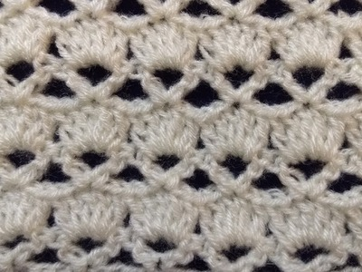 Very Easy Knitting Crochet (Crosia) Pattern. Design