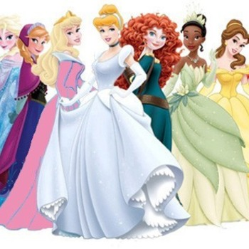 CRAFTS Disney Princess Cross Stitch Pattern***LOOK***