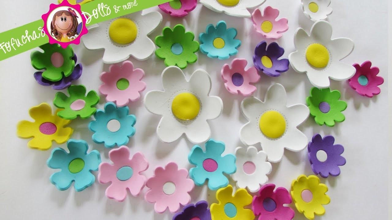 DIY Easy 3D Foam Flowers - Fun Foam Craft Sheets