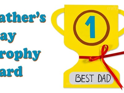 DIY Father's Day Trophy Card | Father's Day Card Ideas | Craft for Kids
