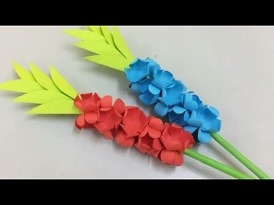 DIY How to make unique Paper Flower | Paper Flower Tutorial | Paper Craft | Diy thing