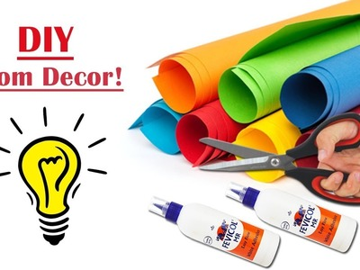 DIY Room Decor Idea with Paper Craft   Handmade Room Decor Idea   Beautiful Wall Decoration