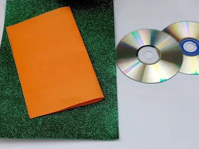 DIY: Waste CD Craft!!! How to Make Makeup Organizer &Key Holder With Old CD.DVD!!!