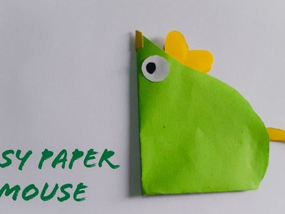 Easy Paper Mouse | Craft For kids | The Best Crafts