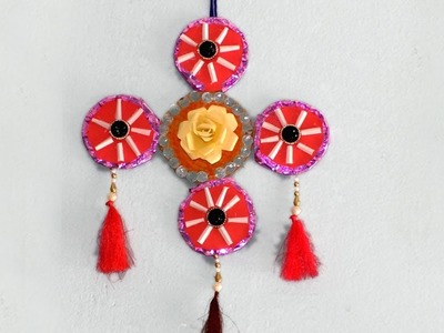 How to make excellent Paper Craft for wall decoration By Purnima Crafts