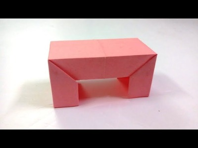 How to make simple & easy paper table | DIY Paper Craft Ideas, Videos & Tutorials.