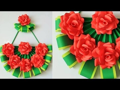 Paper Wall Hanging - Easy Wall Decoration Ideas - Paper craft - DIY Wall Decor 185