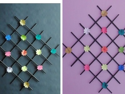 Simple home decor  | DIY Wall hanging | News paper craft | Hand made paper craft