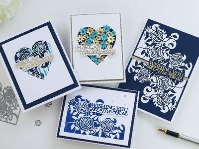 Tonic Studios craft kit 21 -  inspiration with Bibi Cameron