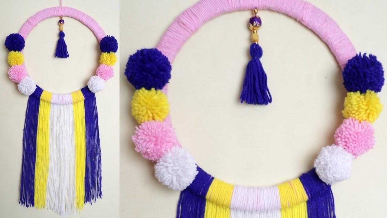 Wow !!! Easy Woolen Craft || DIY Room Decor Idea || Handmad Craft Idea
