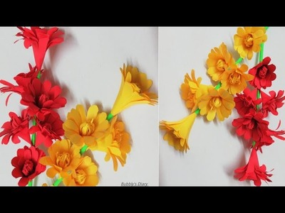 DIY Paper Flowers -  Paper Flowers Easy - How To Make Paper Flower