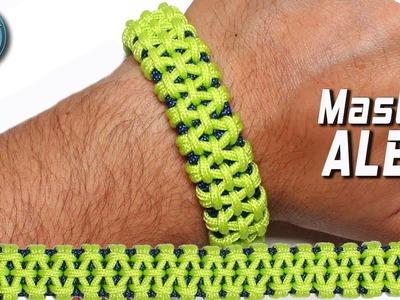 DIY Paracord Bracelet Master Alex Knot   World Of Paracord   How to make Paracord Bracelet Tutorial