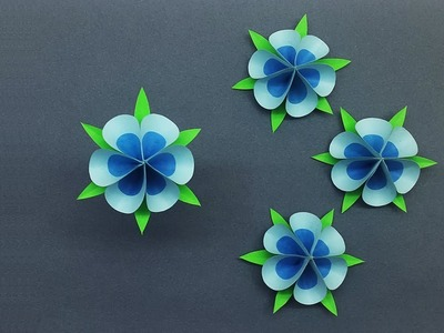Easy Paper Flowers | How to Make Tiny Paper Flower for Decorations