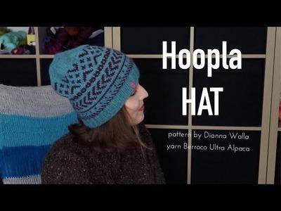 Hoopla Hat pattern by Dianna Walla ❤︎ finished object ❤︎ knitting ILove