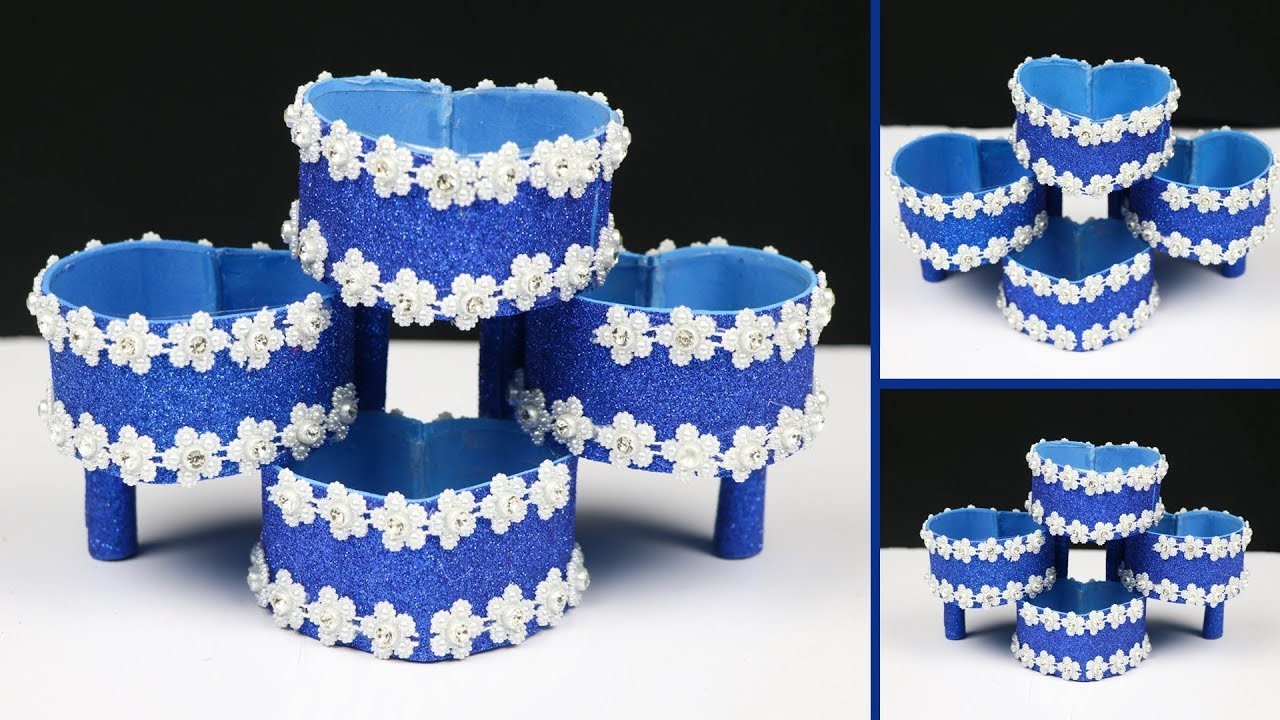 How to make a DIY Organizer with plastic bottle   best out of waste   Plastic Bottle Craft Ideas