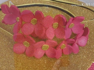How to make a hairband from foam sheet