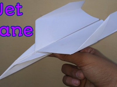 How to Make A Paper Air plane - Paper Plane - Paper Origami - Jet Plane
