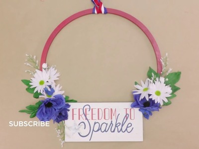 How to Make a Patriotic Wreath | Michaels