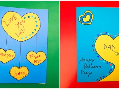 How to make a special handmade greeting card for Father's day   DIY paper gift idea  The Best Crafts