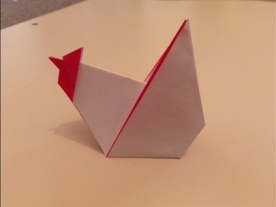 How To Make An Origami Hen