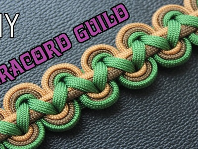 HOW TO MAKE ANCIENT PARACORD BRACELET