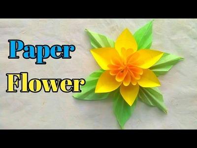 How to make Beautiful Paper Flower || कागज से खूबसूरत फूल बनाना सिखे || Origami