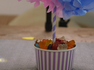 How to Make Centerpiece for Birthdays - HomeArtTv by Juan Gonzalo Angel