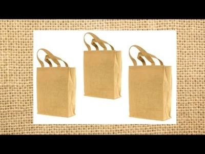 How to make custom designs on Jute Bag ???????? | Jute Bag Painting   ????