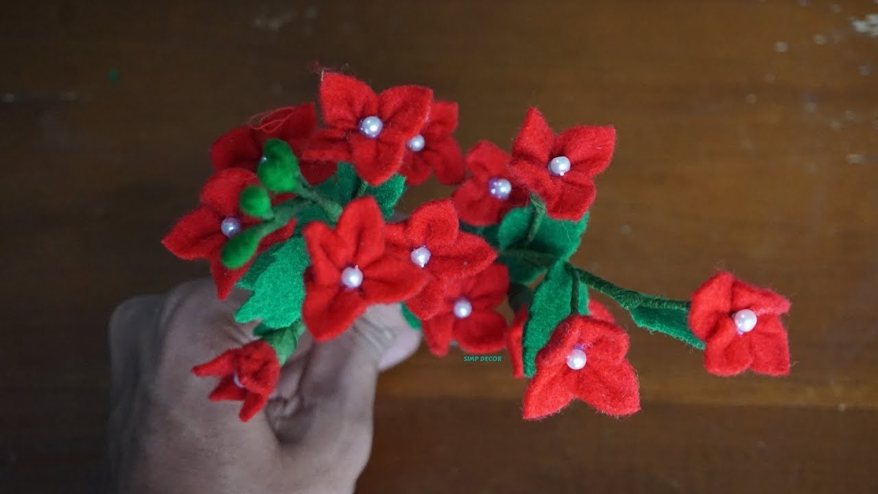 How to Make Flower From Flannel | DIY Flannel Flower Crafts