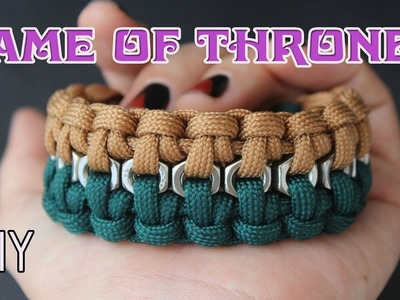 HOW TO MAKE GAME OF THRONES BRACELET (A SONG OF ICE AND FIRE)