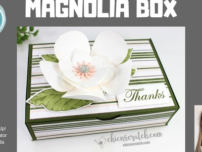 How to make Magnolia Flower with Box