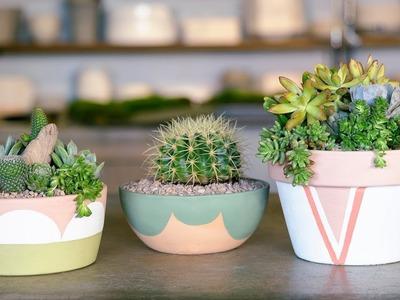 How to Paint Terra Cotta Pots | Sunset