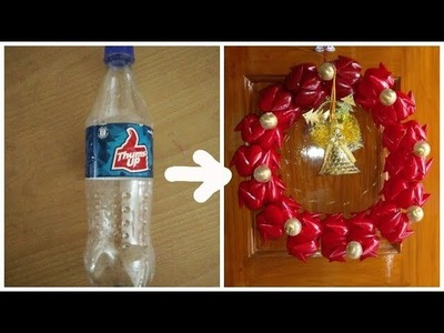 How to Re-use Plastic Bottles | DIY | Christmas Decoration | Best Out Of Waste