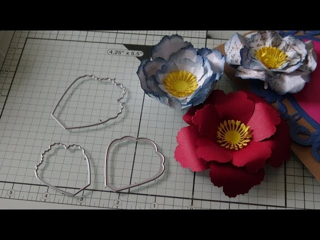 How to Use Single Petal Flower Cutting Dies!