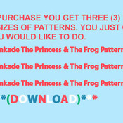 CRAFTS The Princess & The Frog Cross Stitch Pattern***LOOK***Buyers Can Download Your Pattern As Soon As They Complete The Purchase