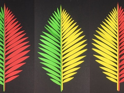 Paper Leaves |  Paper Crafts Easy | Paper Crafts | How To Make Paper Leaves