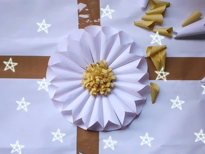 #Paperflower How To Make Paper Flower