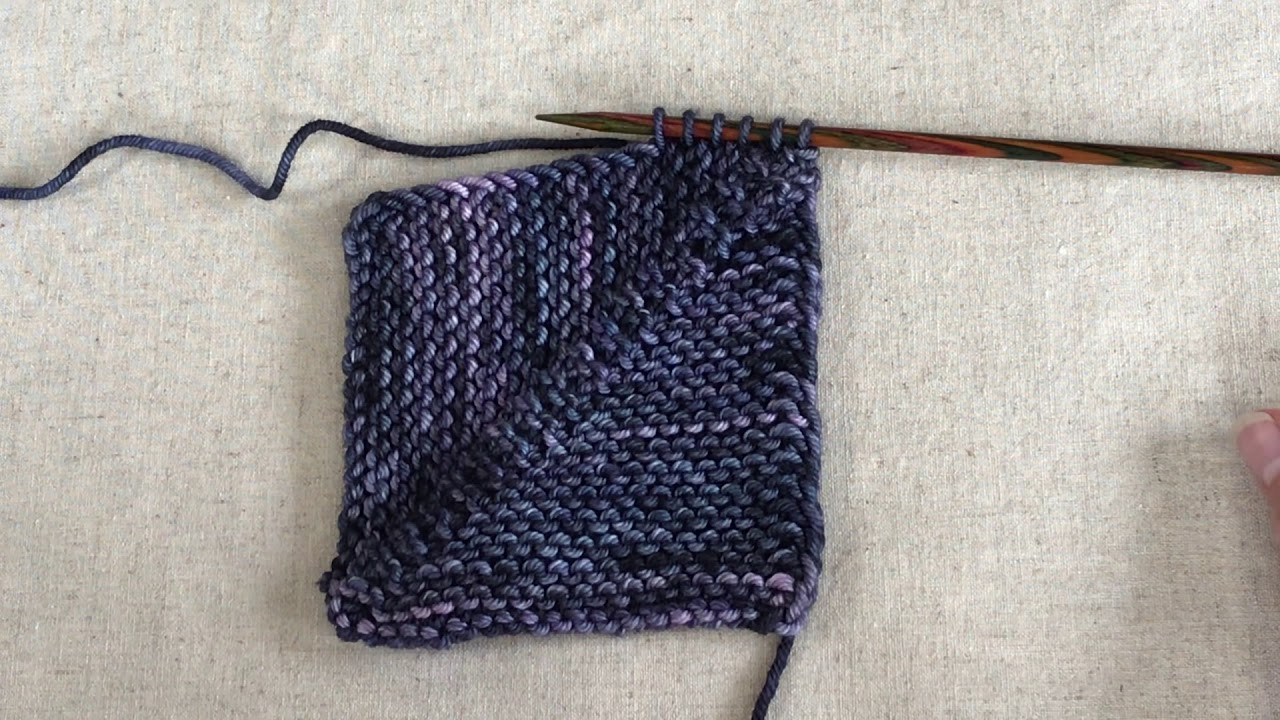 Picking up and knitting from slipped stitch selvedge
