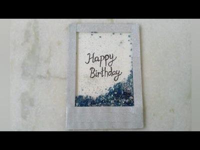 Shaker card    Card Making Ideas   Birthday card Making Ideas