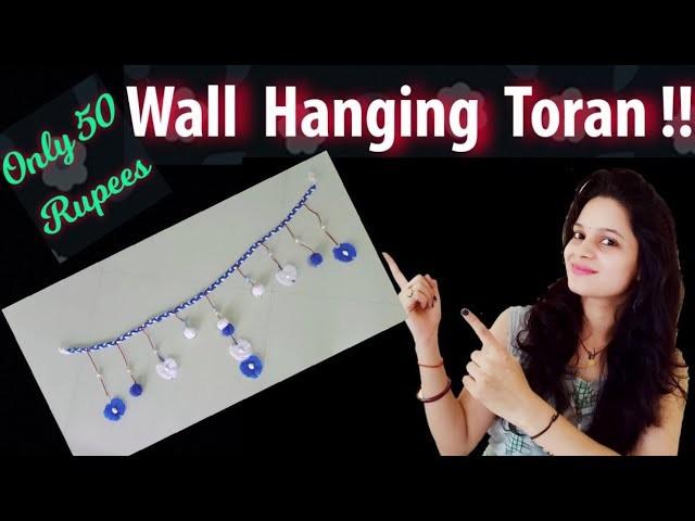 Simple and easy Door Hanging Toran From Woolen | How to make toran at home | Pom pom door hanging