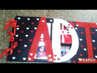 Adi name scrapbook