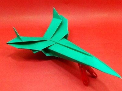 Best Design Paper Jet Airplane - How To Make origami Jet Aircraft for Kids