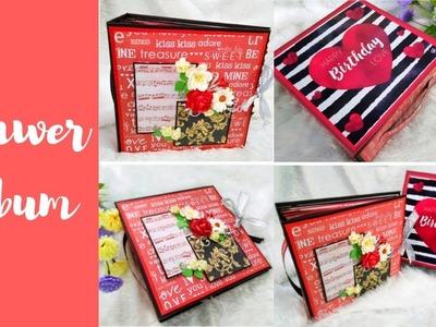 Drawer Album || Scrapbook || Handmade gift || Inspire With Naima