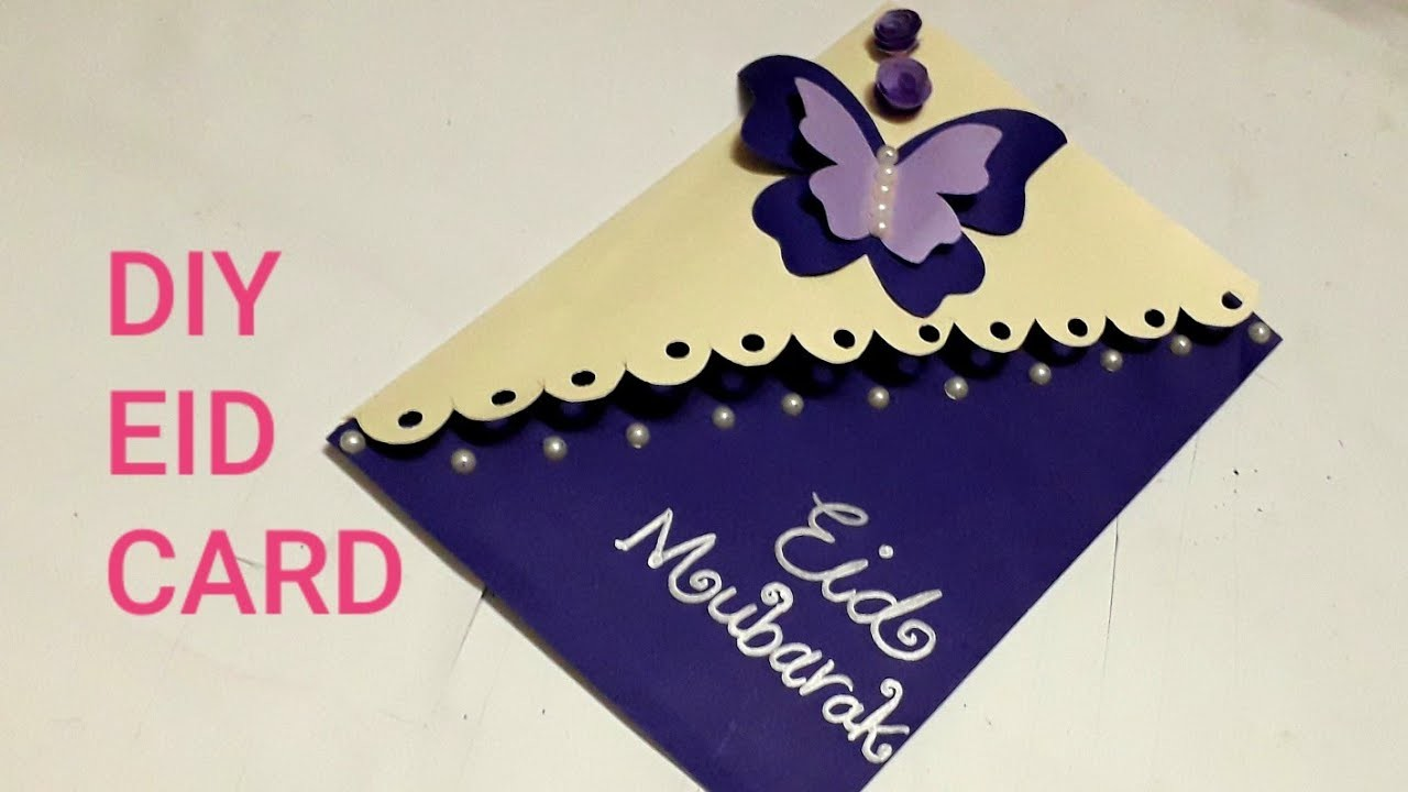eid card making how to make special card for eid with