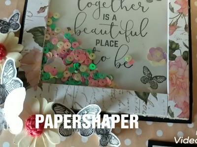 Handmade scrapbook photo album