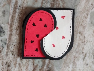 Heart????❤ card making idea for scrapbook pages and greeting cards