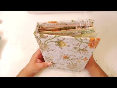 How I decorate a Blank Junk Journal