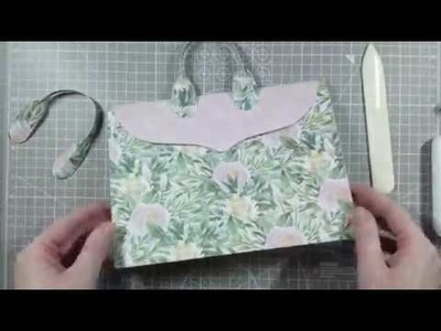 How To Make A DIY Landscape Gift Bag | Simply Made Crafts By Helen Griffin
