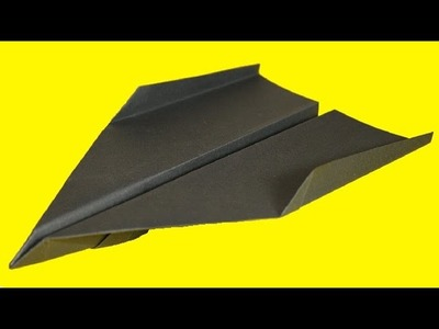 How to make a paper airplane - best paper in the world: Origami Airplane